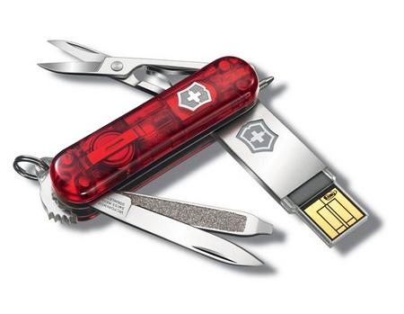 Victorinox Slim USB flash drive Swiss Army Knife