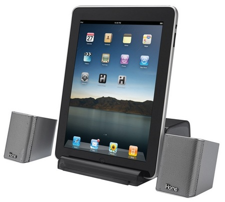 iHome iDM15 portable bluetooth speaker with speakerphone