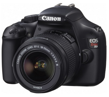 Canon EOS 1100D Rebel T3 Entry-level DSLR Camera 1
