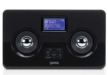 Gear4 HouseParty AirWave Internet Radio with iPhone iPod dock 1