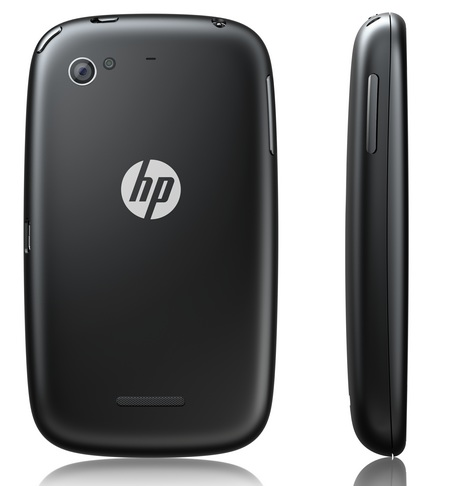 HP Pre 3 webOS Smartphone with QWERTY back side