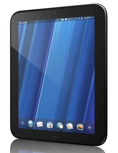 HP TouchPad webOS Tablet angle