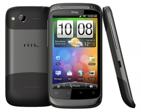 HTC Desire S Android Smartphone with Unibody Design