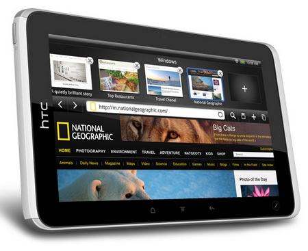 HTC FLYER 7-inch Android Tablet with 1.5GHz CPU 1
