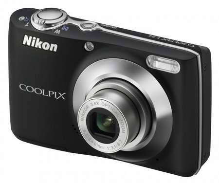 Nikon CoolPix L24 digital camera black