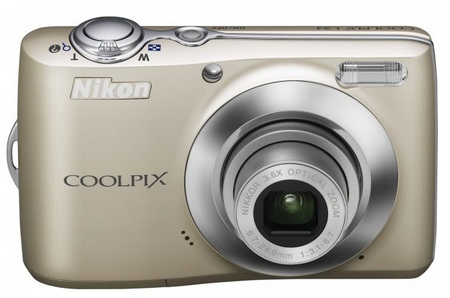 Nikon CoolPix L24 digital camera silver