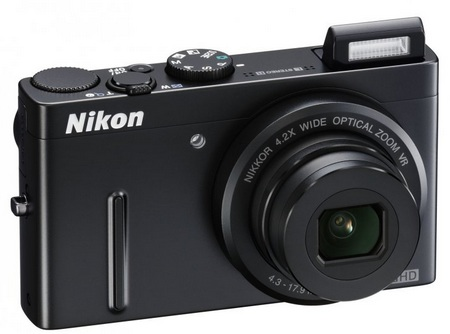 Nikon CoolPix P300 Digital Camera flash open