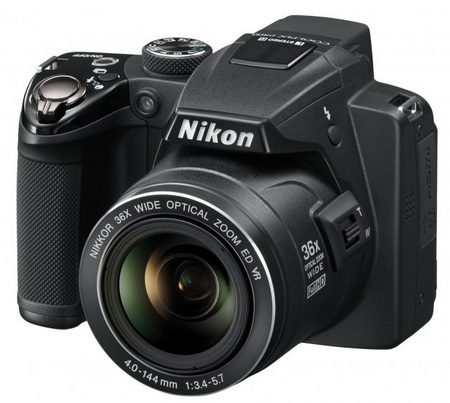 Nikon CoolPix P500 36x Ultra Zoom Camera