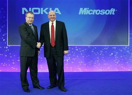 Nokia partners with Microsoft on Windows Phone 7