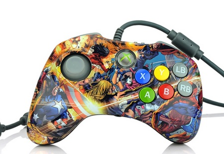 PDP Marvel Versus Fighting Pad for XBox 360