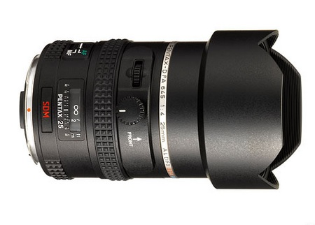 Pentax smc PENTAX D FA 645 25mm F4 AL [IF] SDM AW lens