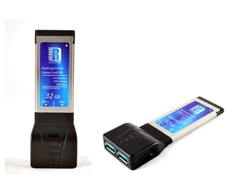 RunCore Pro IV ExpressCard SSD with USB 3.0 Ports
