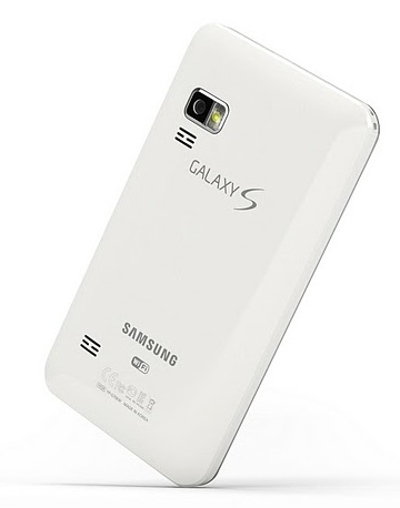 Samsung Galaxy S WiFi 5.0 Android PMP back