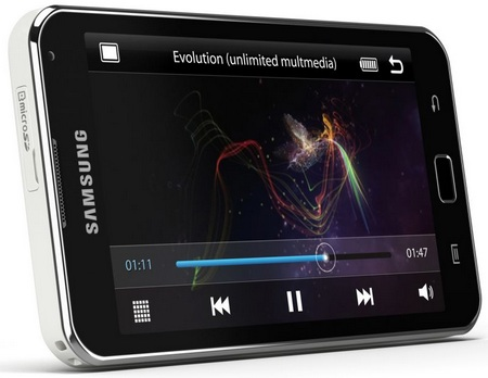 Samsung Galaxy S WiFi 5.0 Android PMP