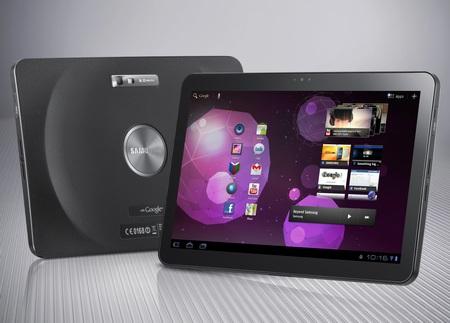 Samsung Galaxy Tab 10.1 Tablet runs Android 3.0 Honeycomb 1