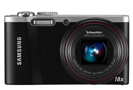 Samsung WB700 Slim 18x Optical Zoom Camera front