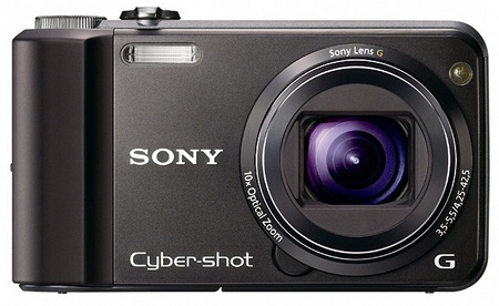 Sony Cyber-shot DSC-H70 10x Zoom Digital Camera black