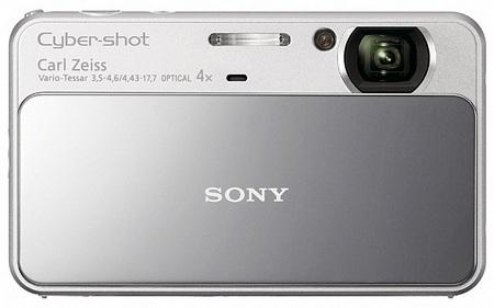 Sony Cyber-shot DSC-T110 Touchscreen Digital Camera silver