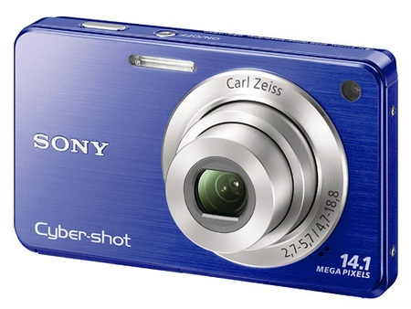 Sony Cyber-shot DSC-W560 digital camera blue