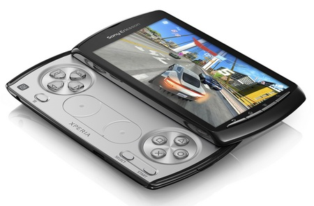Sony Ericsson Xperia PLAY PlayStation Phone running Android OS