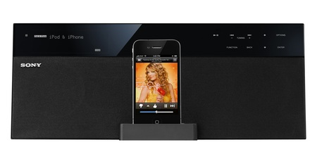 Sony NAS-SV20i HomeShare Wi-Fi Network iPhone Dock