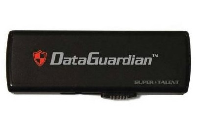 Super Talent DataGuardian Secure USB Flash Drive