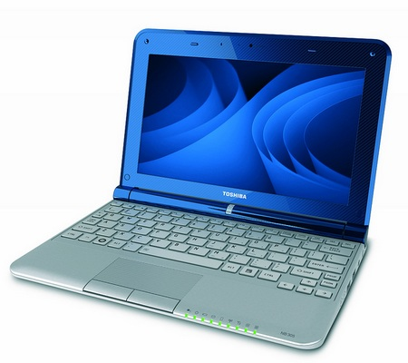 Toshiba mini NB305 Atom N550 dual-core netbook