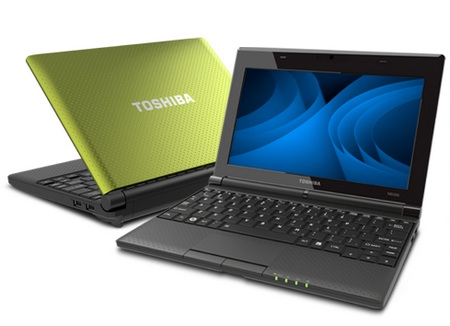 Toshiba mini NB505 netbook