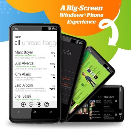 AT&T HTC HD7S Windows Phone 7 Smartphone