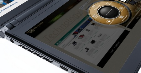 Acer ICONIA 6120 Dual-Screen Touchbook Ring UI
