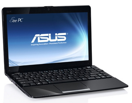 Asus Eee PC 1015B and 1215B AMD Fusion Netbooks