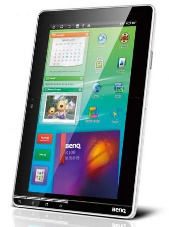 BenQ R100 Android Tablet portrait