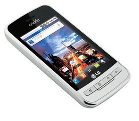 Cricket LG Optimus C Android Phone
