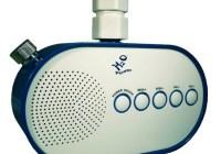 H2O Water Pressure Powered Shower Radio