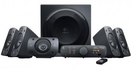 Logitech Surround Sound Speakers Z906 is THX Certified