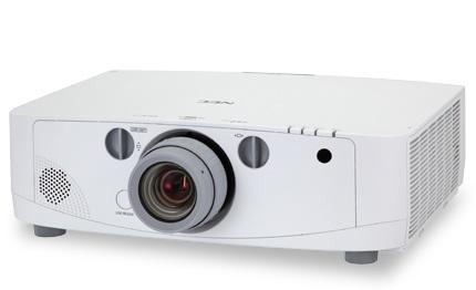 NEC PA600X, PA550W, PA500U and PA500X Professional Projectors 1