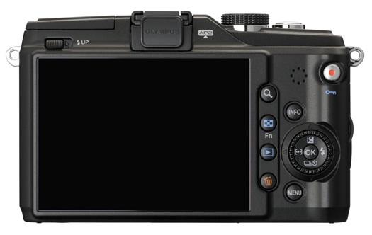 Olympus PEN E-PL2 Compact Interchangeable Lens Camera back