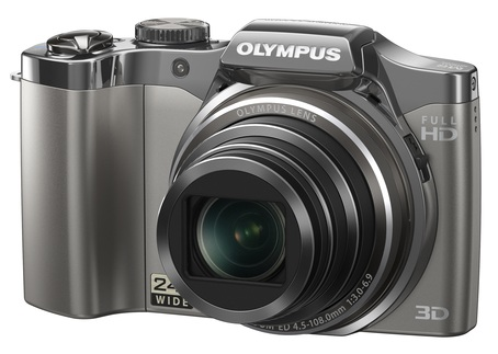 Olympus SZ-30MR Ultra Zoom Camera silver