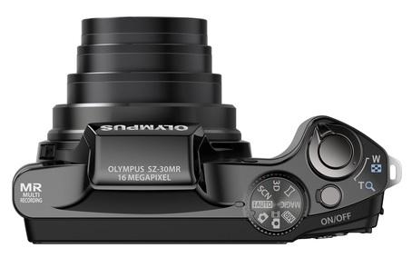 Olympus SZ-30MR Ultra Zoom Camera top