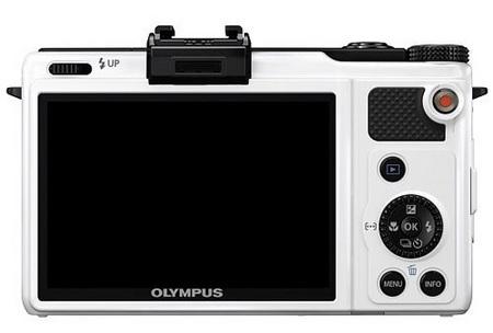 Olympus XZ-1 High-end Compact Digital Camera white back