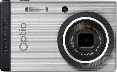 Pentax Optio RS1500 Customizable Camera silver