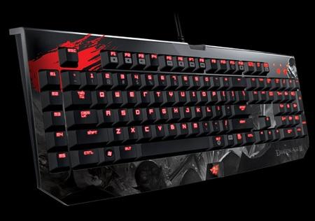 Razer Dragon Age II Razer BlackWidow Ultimate mechanical keyboard
