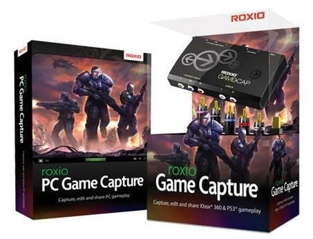 Roxio Game Capture records Xbox 360 and PS3 Gameplay