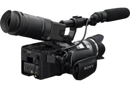 Sony NXCAM HD NEX-FS100 Super 35mm Full HD Camcorder 1