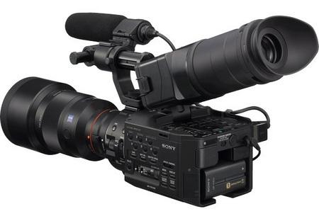 Sony NXCAM HD NEX-FS100 Super 35mm Full HD Camcorder viewfinder tube