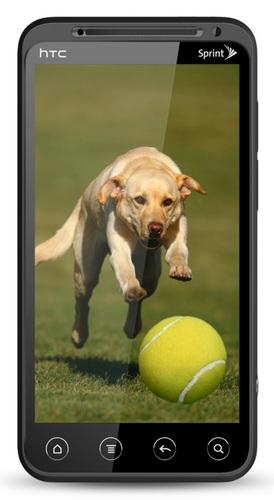 Sprint HTC EVO 3D 4G Smartphone with QHD 3D Display 3D
