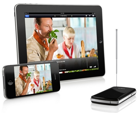 Elgato Tivizen Mobile TV Tuner Streams Live TV Wirelessly