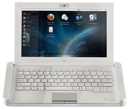 Hercules eCAFE Slim HD netbook