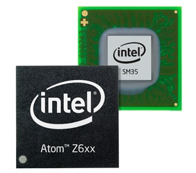 Intel Atom Z670 CPU for Tablets