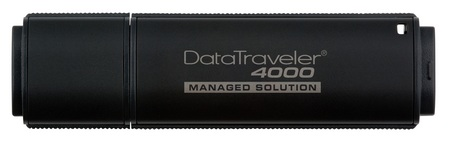 Kingston DataTraveler 4000-M Managed Government-Level Secure USB Flash Drive